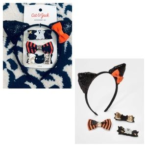 NWT: Cat & Jack Hair Accessory Set Ages 3+!